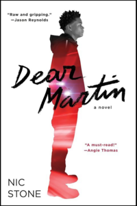 Cover of 'Dear Martin' by Nic Stone.