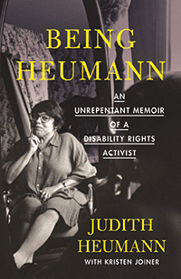 "Cover of ""Being Heumann."""