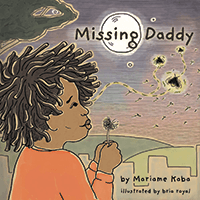 "Cover of ""Missing Daddy."""