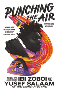 "Cover of ""Punching the Air."""