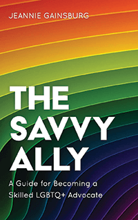 "Cover of ""The Savvy Ally."""